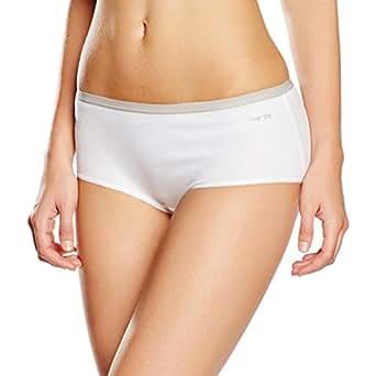 Nur Die Damen Panties Super Stretch Panty, Weiß (Weiß 30), 38 (Herstellergröße: 36-38)