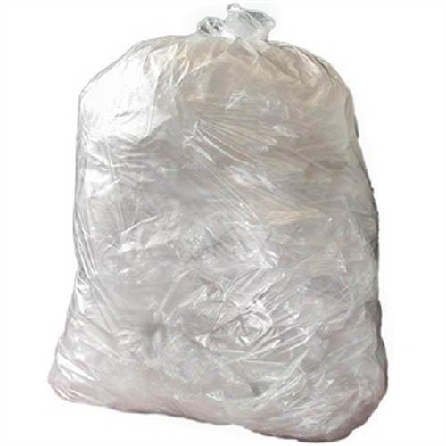 Jantex GE787Medium Duty sacchi della spazzatura, 80l, trasparente (confezione da 200)