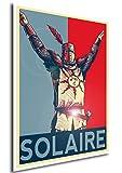 """Poster Dark Souls """"Propaganda"""" Solaire - Formato A3 (42x30 cm)"""