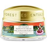 Forest Essentials Soundarya Radiance Cream with 24K Gold and SPF25, 30g