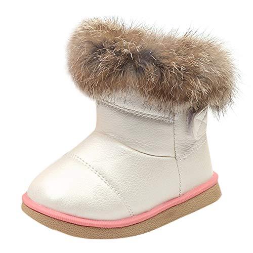 WEXCV Unisex Warm Stiefel Schneestiefel, Baby Kinder