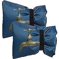 mbition Cubierta de Grifo Exterior de Invierno Calcetines Protector de Grifo Reutilizable Protector de congelación Bolsa de Grifo de rociadores de Agua Bolsa de Grifo