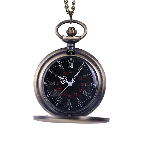 Pocket-schrittzähler Pc ( Clara  Men and Women Couple Pocket Watch Retro Quartz Hanging Table Commemorative Table)