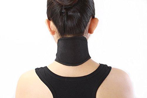 Nackenwärmer bei Nackenschmerzen Kopfschmerzen selbstwärmende Nackenbandage zum Entspannen für Damen und Herren Größe L