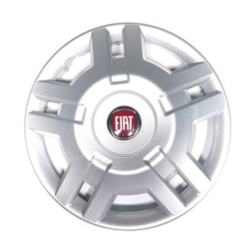 Set of 4/Wheel Trims 15/Inches Red Logo