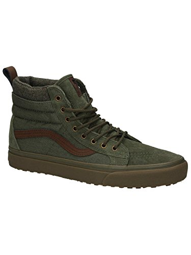 Vans Sk8-Hi Mte Dx, Sneakers Hautes Mixte Adulte olive marron