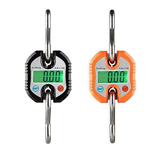 Sue Supply Báscula electrónica portátil para caza, mini báscula digital, sin batería,...