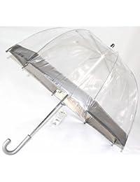 Enfants Parapluie dôme transparent Argent