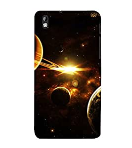 printtech Nature Solar System Planets Back Case Cover for HTC Desire 816 / HTC Desire 816 G