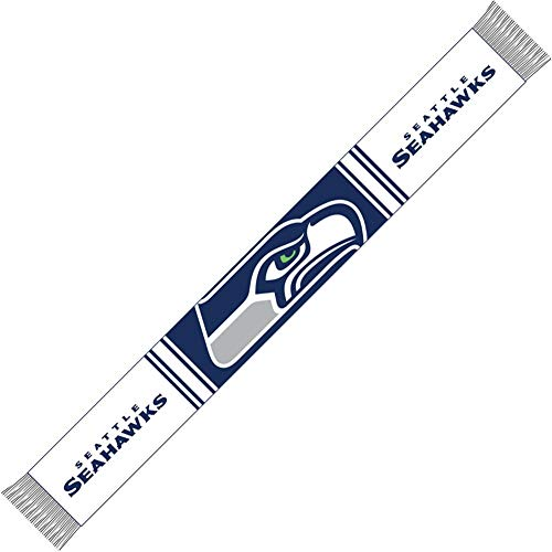 Forever Collectibles Seattle Seahawks Bar Scarf Colour Rush Navy/White - One-Size (Com Pullover Hässliche)