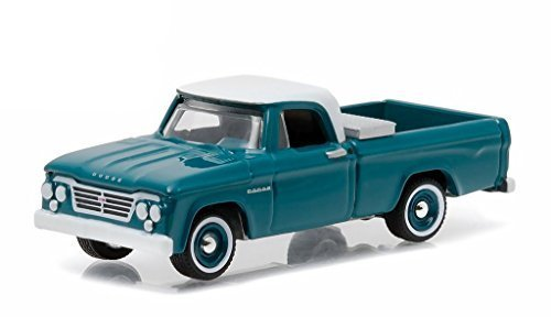 1963 Dodge D-100 with Toolbox Pickup Truck Country Roads Series 14 1/64 by Greenlight 29830 A by Dodge
