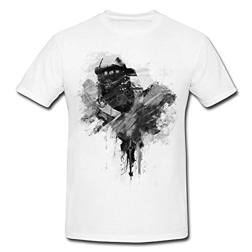 Halo 5 Chief 90x60cm T-Shirt Herren, Men mit Stylischen Motiv von Paul Sinus
