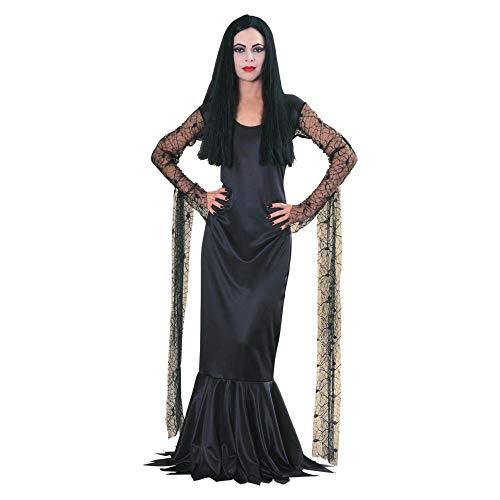 Kostüm Morticia Perücke - Offizielles Morticia-Kostüm aus der Addams Family™ für Damen