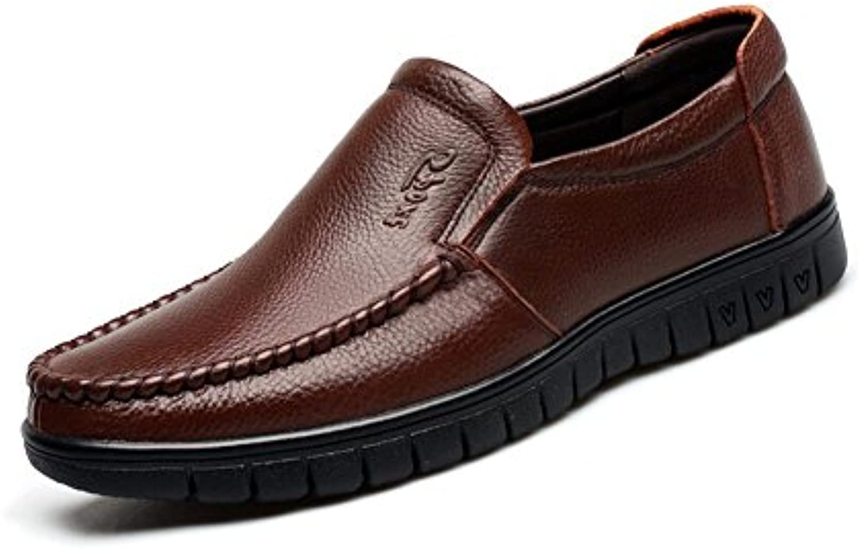 CJC Schuhe Herren Geschlossen Zehe Unterhose auf Mokassins Eben Fahren Dual Use (Farbe : T2  Größe : EU41/UK7.5 8)