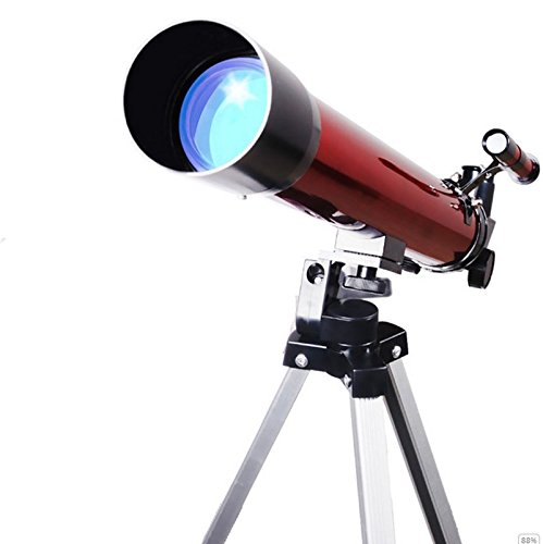 LIHONG TELESCOPIO ASTRONOMICO HD DE ALTA TASA DE NIñOS SE APRESURARON KWUN ENTRADA PRINCIPAL   COLOR ROJO  TELESCOPIO NUEVO CLASICO DE LA MODA