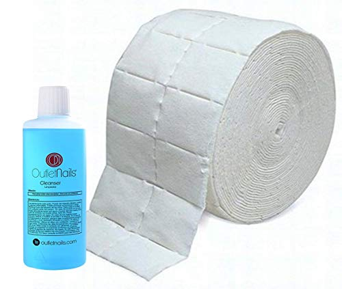 Cleaner Gel 100ml Aroma Coco Azul + 500 Celulosas