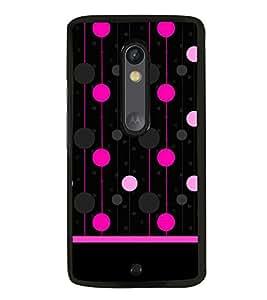 Fiobs Designer Back Case Cover for Motorola Moto X Force :: Motorola Moto X Force Dual SIM (Awards Ar Artistic Owl Birld Dance Singer)