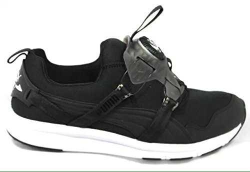 Puma Disc Chrome pour femme 356489 03 Noir Baskets de running Sneakers Rare