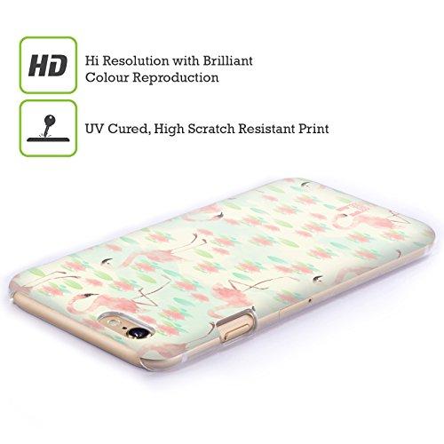 Head Case Designs Aztekisch Glam Fab Flamingo Ruckseite Hülle für Apple iPhone 6 / 6s Lotusteich