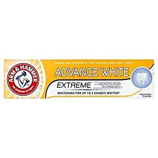 TWO PACKS of Arm & Hammer Advance White Extreme Baking Soda Toothpaste 75ml