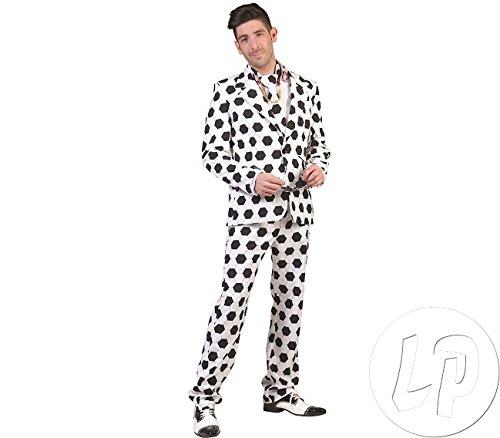Pierro´s Kostüm Herren Anzug Fußball Größe - Fußball Herren Kostüm
