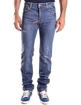 Frankie Morello Hombre MCBI125083O Azul Algodon Jeans