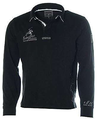 KITARO Herren Langarm Shirt Poloshirt Polokragen Beaufort Polo Club
