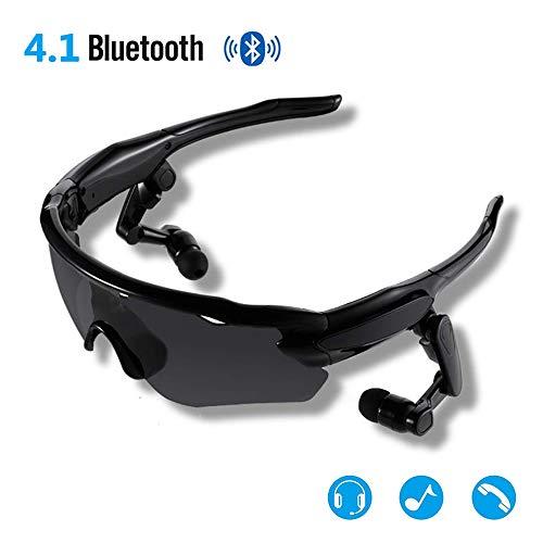 JEANN-YJGlasses Herren Bluetooth Kopfhörer Freisprecheinrichtung Sonnenbrille Polarisierte Brille Sportbrillen Angelbrille, passend für die meisten Smartphones,B