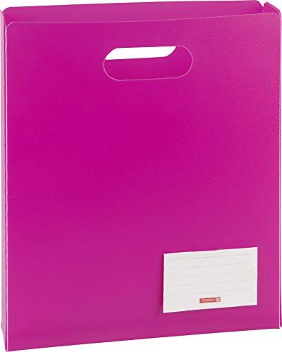 Brunnen Heftbox FACT!pp (oben offen) pink