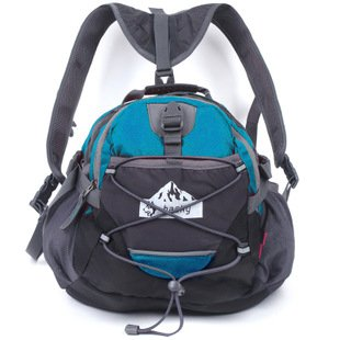 Fashion Outdoor-Rucksack tragbar Tasche wasserdichte Taschen Fuß gehen Taschen Reiten Rucksack Grün