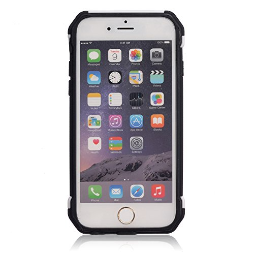 Voguecase® für Apple iPhone 6/6s 4,7 hülle,2 in 1 (Harte Rückseite) Hybrid Hülle Schutzhülle Case Cover (Frühling) + Gratis Universal Eingabestift Frühling