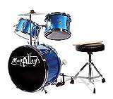 Music Alley Tamburo Kit, Junior, Blu