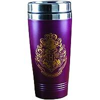 HARRY POTTER V2 Hogwarts Travel Mug, Stainless Steel, Multi-Colour, 9 x 9 x 18 cm