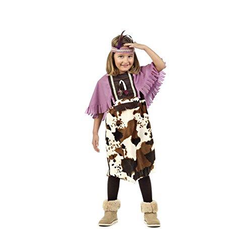 Kind Kostüm Rosa Cowgirl - Elbenwald Cowgirl Indianerin Kostüm Kinder 2-TLG. Wilder Westen Kleid mit Haarband rosa - 9/11 Jahre