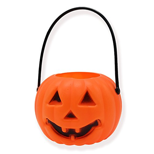 Happy Halloween Ghost Party Treat Glowing Lighting Lantern 15cms Hanging Pumpkin Decoration