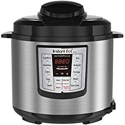 Instant Pot pentola a pressione IP Lux 60, V3, 6 l, 6 in 1 elettrico, 1000 W, Pentola e rivestimento in acciaio inox