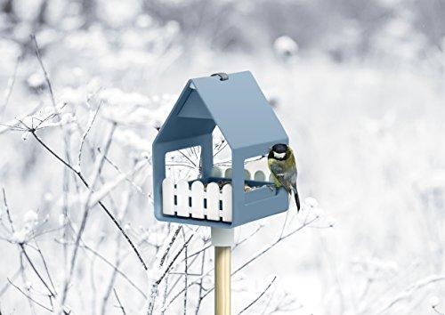 Emsa Vogel-Futterhaus und Bad, Für Kleinsingvögel, Ganzjahresnutzung, Landhaus