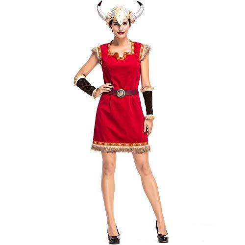 Halloween Wonder Woman Cosplay Costumes Viking Female