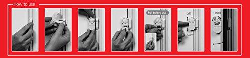 Smartwares Mini Tür und Fensteralarm im 3-er Pack - 2