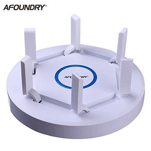 AFOUNDRY AC1900 Gigabit Dualband WLAN Router,2600Mbps Wireless-AC Computer Router Reichweite bis zu 200m,Hochleistungs Business Enterprise Router (Modem 16x4)