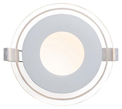 "AEG Orbita Deco LED Einbauleuchten Set: 3 Stück\""Easydim\"" 3 x 500 Lumen, Aluminium, Integriert, 5 W, weiß/transparent, 0 x 0 x 3.2 cm, 3 Einheiten"