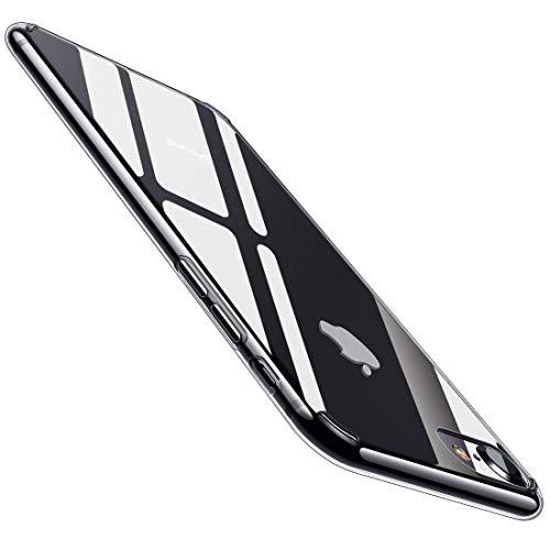 humixx iPhone 8 Hülle, iPhone 7 Hülle Hochwertigem Stoßfest, Anti-Fingerabdruck, FederLeicht Hülle Bumper Cover Schutz Tasche Schale für iPhone 8/7-Klar