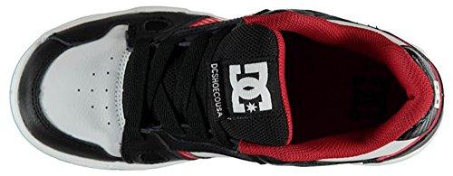 DC, Sneaker bambini Black/White/Red