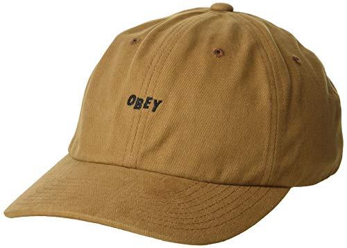 Obey Herren 100580074 Baseballmütze - braun - Einheitsgröße