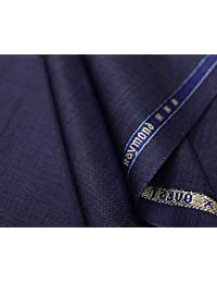 Raymond & Shoppers Club Men's Unstitiched Fabric Suiting for Pant or Coat or Suit with Free shoppersclub Socks and handkerchies