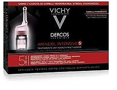 Idea Regalo - Vichy Dercos Aminexil Intensive 5 Trattamento Anticaduta Uomo 42 Fiale