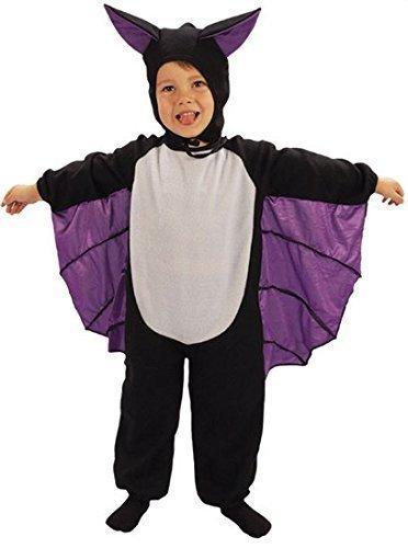 Baby Mädchen Jungen Kleinkinder Vampir Fledermaus Halloween Kostüm Kleid Outfit 3 Jahre (Vampir Mädchen Kinder Kleinkind Kostüm)