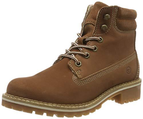 Tamaris Damen 1-1-25242-23 Combat Boots, Braun (Cognac 305), 40 EU