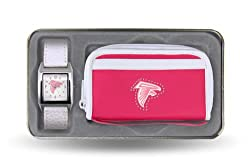 NFL Atlanta Falcons Women's Watch and Wallet Set