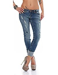 Sublevel Jeans skinny look destroyed Jeans / 61311